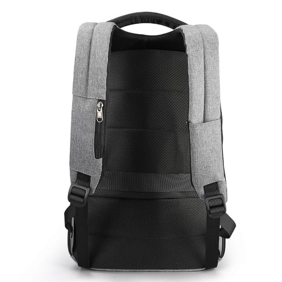 LockIT - laptop rugzak - anti diefstal - 12,5 tot 15,6 Inch - grijs-3