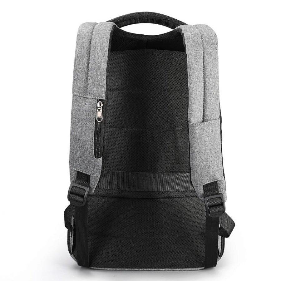 Tigernu - LockIT - laptop rugzak - anti diefstal - 12,5 tot 15,6 Inch - grijs-3