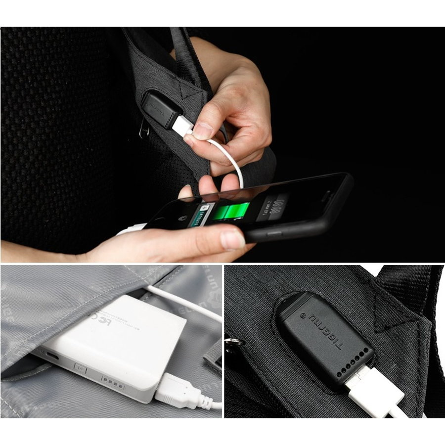 LockIT - laptop rugzak - anti diefstal - 12,5 tot 15,6 Inch - roze-4