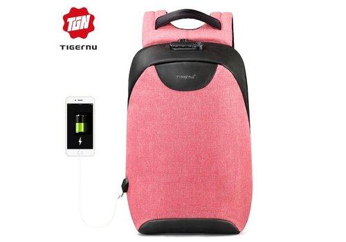 LockIT - laptop rugzak - anti diefstal - 12,5 tot 15,6 Inch - roze