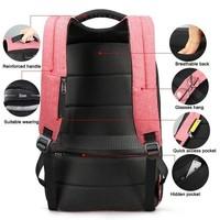 thumb-LockIT - laptop rugzak - anti diefstal - 12,5 tot 15,6 Inch - roze-3