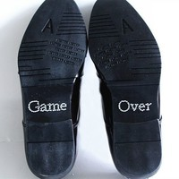 thumb-PaCaZa - SALE - 'Game Over' Sticker - Kristal-1