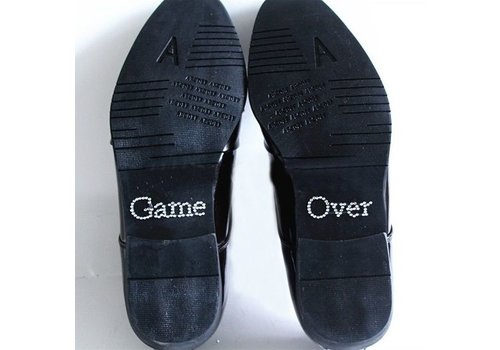 SALE - 'Game Over' Sticker - Kristal