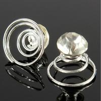 thumb-PaCaZa - Kristallen Curlies - 6 stuks-6