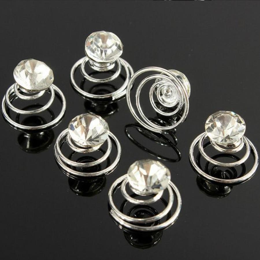 Kristallen Curlies - 6 stuks-8
