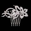 PaCaZa Fonkelende Moderne Haarkam bezet met Kristallen