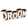 BonTon Houten Waxinehouders - DROOM- 5 Stuks - Kleur Naturel en Antique White