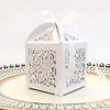 PaCaZa PaCaZa - Geschenk doosjes / Cadeau doosjes - 50 stuks - Flower - Wit