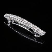 thumb-PaCaZa - Moderne Fonkelende Haarclip / Haar Sieraad met Kristallen-1