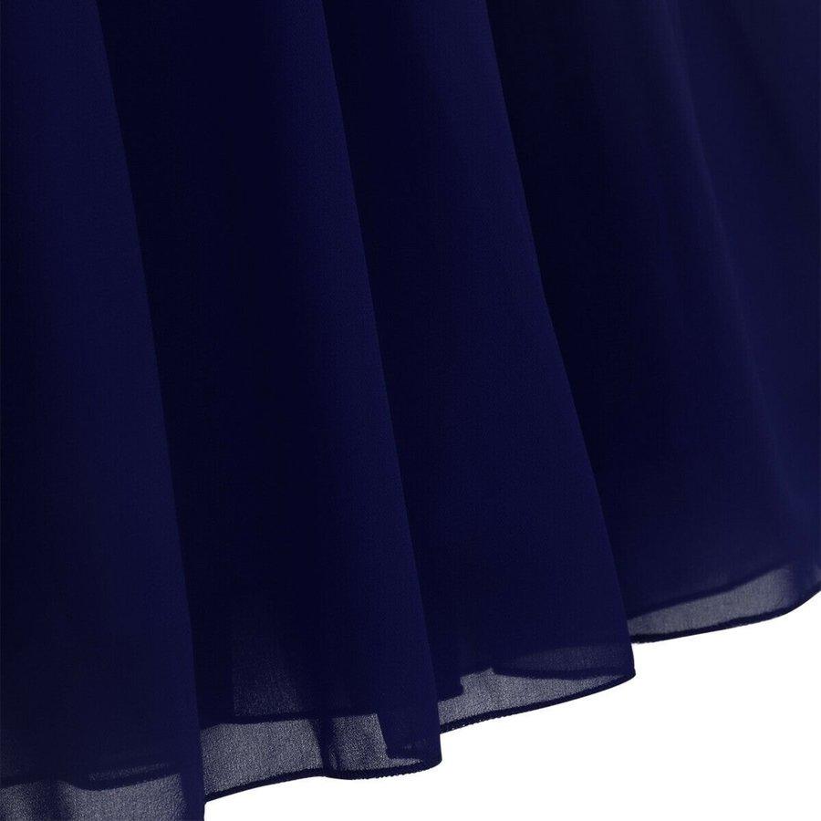 Communiejurk / Bruidsmeisjesjurk - Cloë - Donker Blauw - Maat 122/128-6
