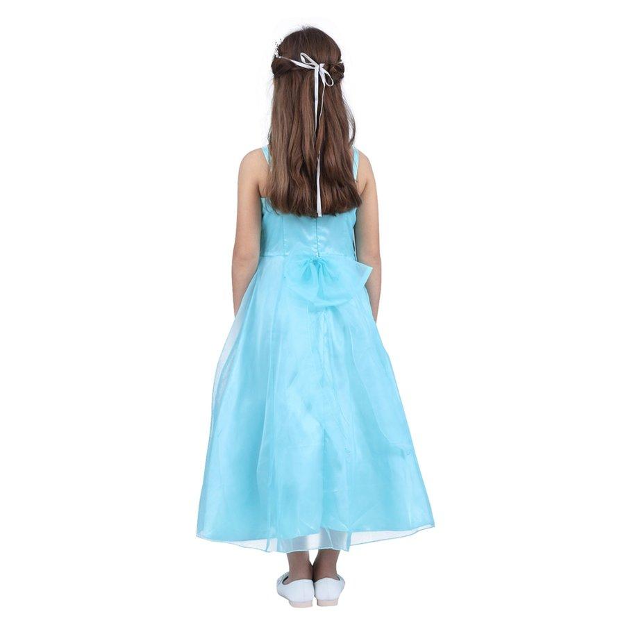Communiejurk / Bruidsmeisjesjurk - Lucy - Blauw - Maat 134/140-2