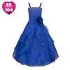 PaCaZa Communiejurk / Bruidsmeisjesjurk - Emily - Donker Blauw - Maat 98/104