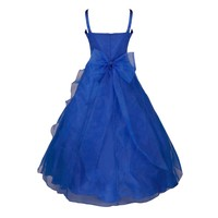 thumb-PaCaZa - Communiejurk / Bruidsmeisjesjurk - Emily - Donker Blauw - Maat 98/104-2