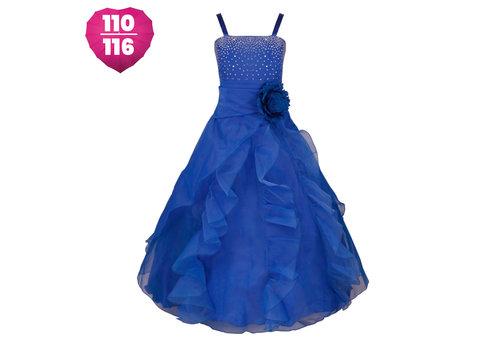 Communiejurk / Bruidsmeisjesjurk - Emily - Donker Blauw - Maat 110/116