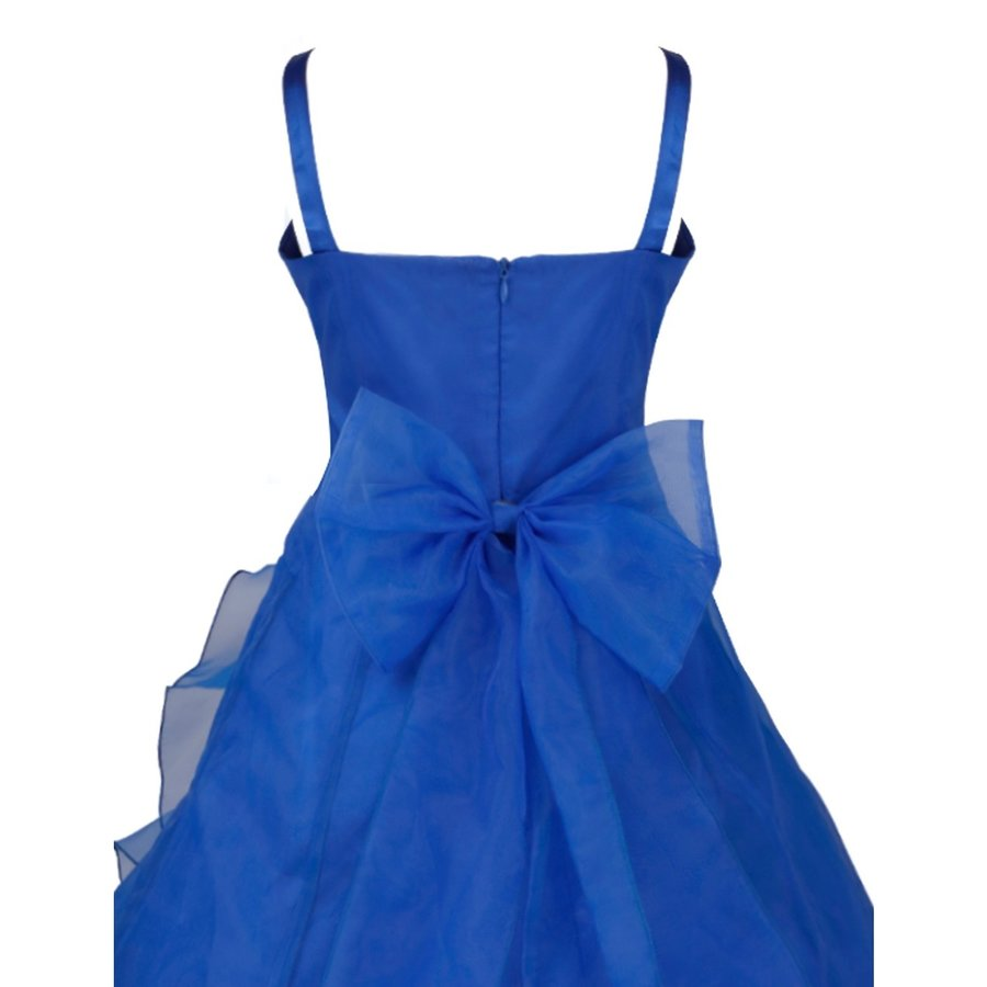Communiejurk / Bruidsmeisjesjurk - Emily - Donker Blauw - Maat 110/116-4