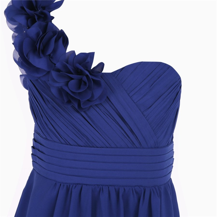 Communiejurk / Bruidsmeisjesjurk - Lola - Blauw - Maat 122/128-8