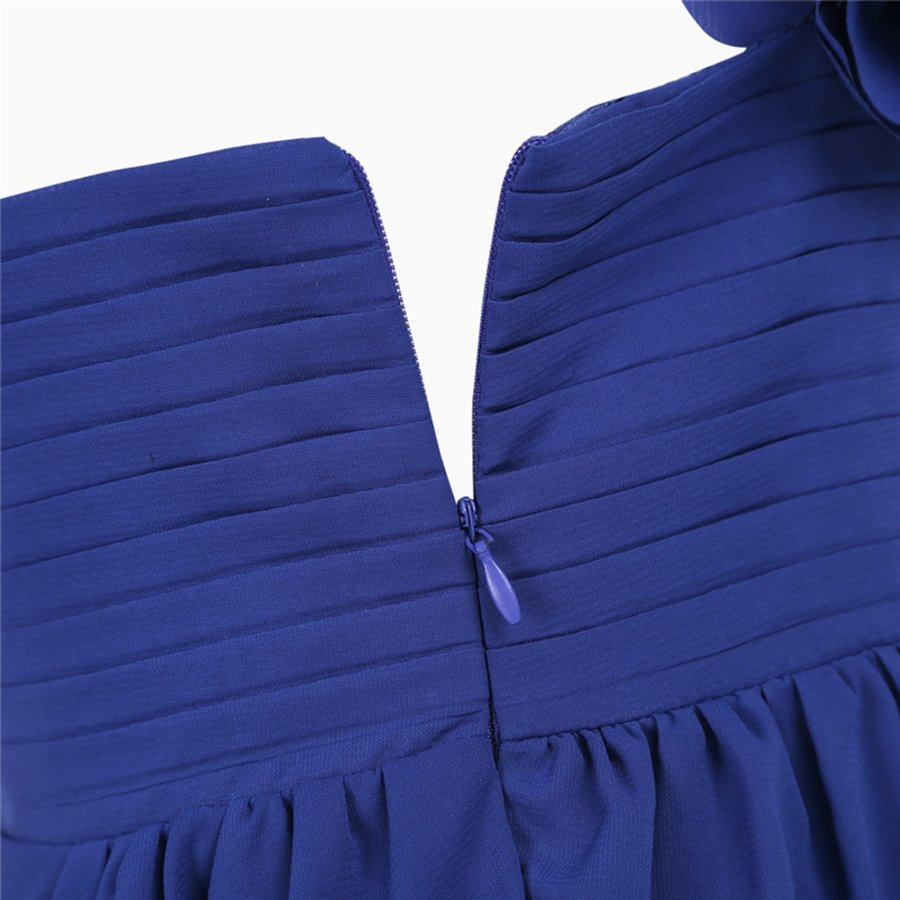 Communiejurk / Bruidsmeisjesjurk - Lola - Blauw - Maat 134/140-6