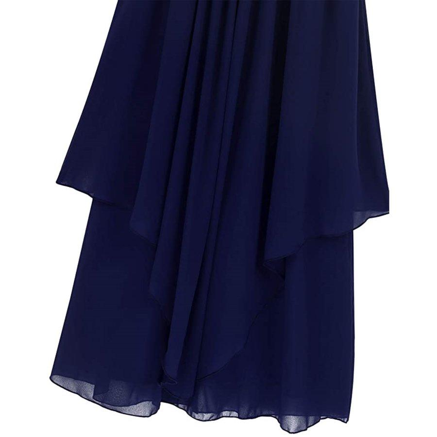 Communiejurk / Bruidsmeisjesjurk - Kensi - Donker Blauw - Maat 146/152-6