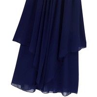 thumb-Communiejurk / Bruidsmeisjesjurk - Kensi - Donker Blauw - Maat 170/176-6