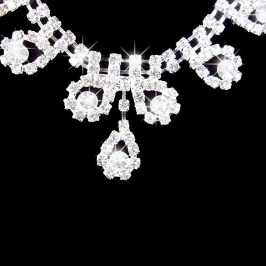 Sieradenset bewerkt met prachtige Kristallen-3