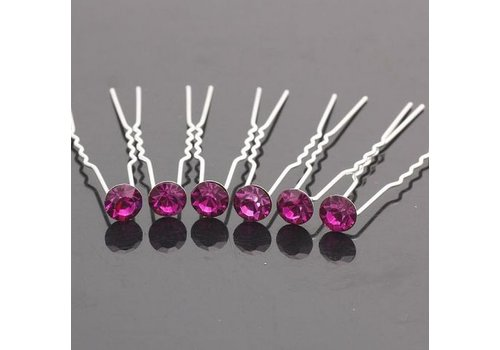 Hairpins – Paars / Roze - 5 stuks