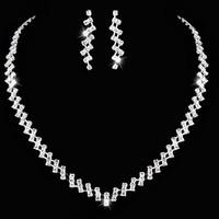 thumb-Sieradenset Sparkling (Ketting & Oorbellen)-1