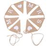 PaCaZa Mr & Mrs Jute Slinger - Bruiloft Decoratie