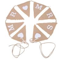 thumb-Mr & Mrs Jute Slinger - Bruiloft Decoratie-1