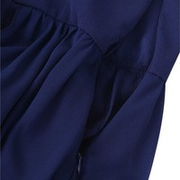 thumb-Communiejurk / Bruidsmeisjesjurk - Ruby - Donker Blauw - Maat 146/152-8