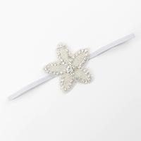 thumb-Haar Sieraad / Haarband Bloem met Fonkelende Kristallen-2