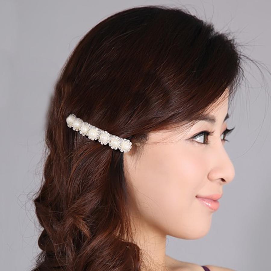 Chique haarclip met Parels-2