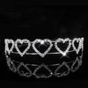 PaCaZa Tiara Heart met  Kristallen