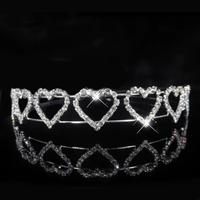 thumb-Tiara Heart met  Kristallen-1