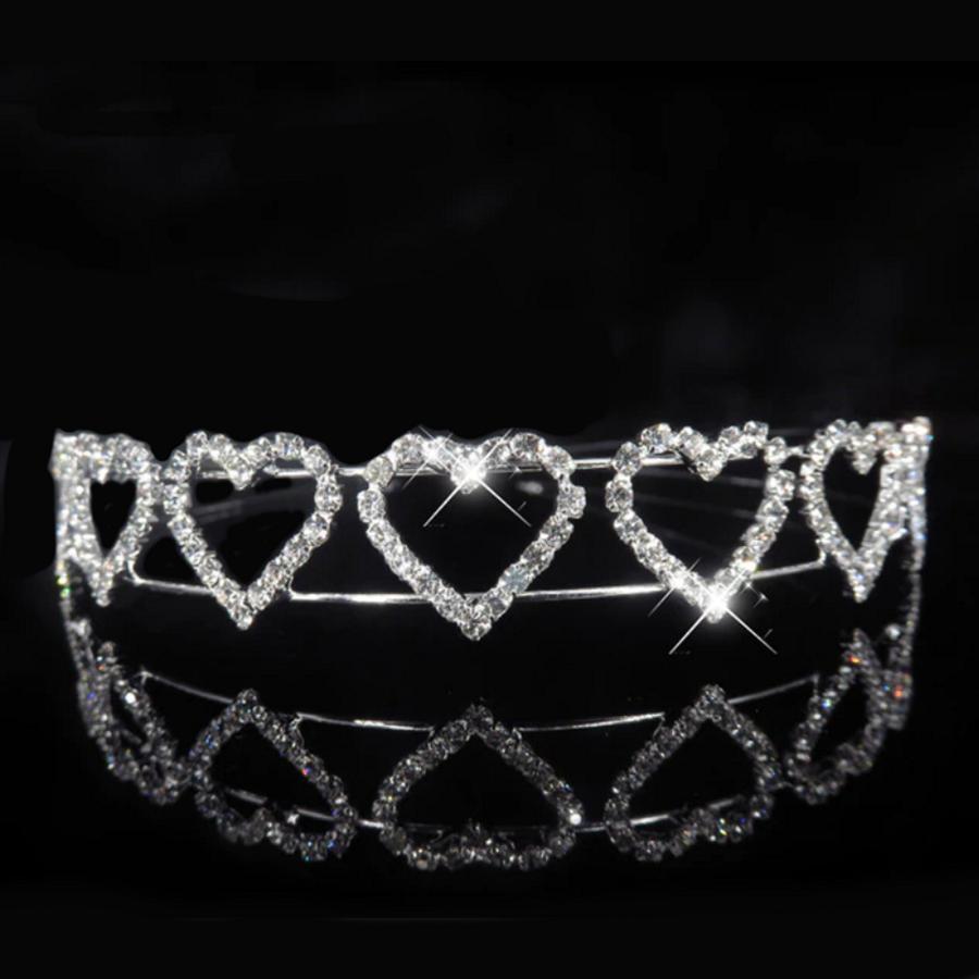 Tiara Heart met  Kristallen-1
