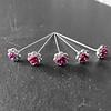 PaCaZa PaCaZa - Haarstekers / Hairpins / Haarpins - Roze Roosje - 5 stuks