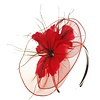 PaCaZa Moderne Fascinator / Haarband - Rood