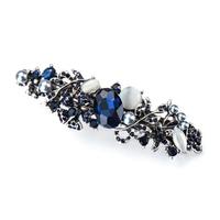 thumb-Luxe Haarclip - Blauw-1