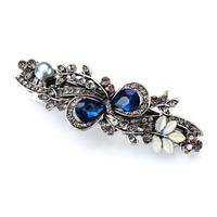 thumb-Elegante Haarclip - Blauw-1