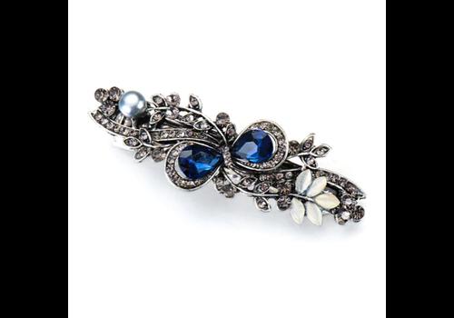 Elegante Haarclip - Blauw
