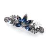 PaCaZa Elegante Haarclip - Blauw - Pauw