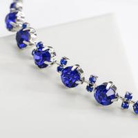 thumb-PaCaZa - Chique Diadeem met Blauwe Kristallen-2