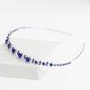 PaCaZa PaCaZa - Chique Diadeem met Blauwe Kristallen