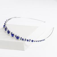 thumb-PaCaZa - Chique Diadeem met Blauwe Kristallen-1
