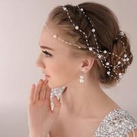 thumb-Haarketting Pearl - Wit - ca. 1 m.-1