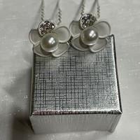 thumb-PaCaZa - Zilverkleurige Hairpins - Wit - Bloem - Parel - Diamantjes - 5 stuks-3