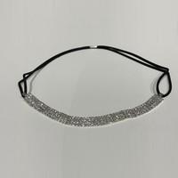 thumb-PaCaZa - Haarband / Haar Sieraad Zilverkleurig met Strass Steentjes-5