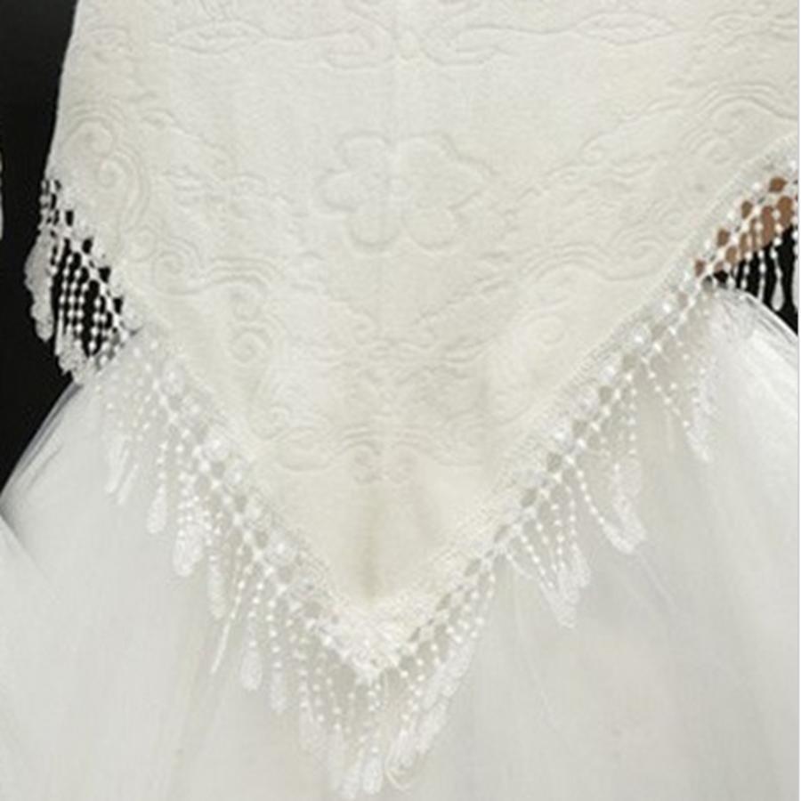 Prachtige Ivoorkleurige Sjaal-4