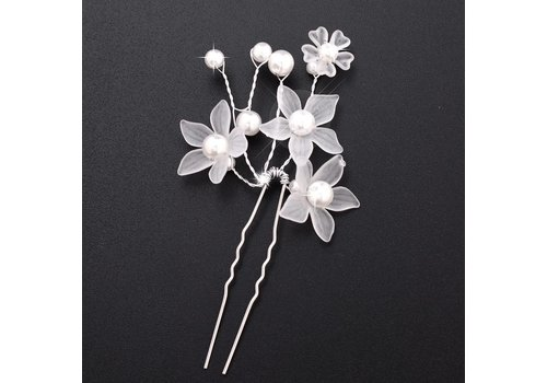 Hairpin - Eye Catcher Flowers & Pearls