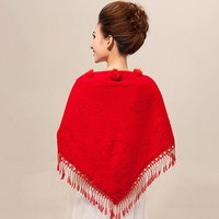 thumb-Prachtige Rode Sjaal-2