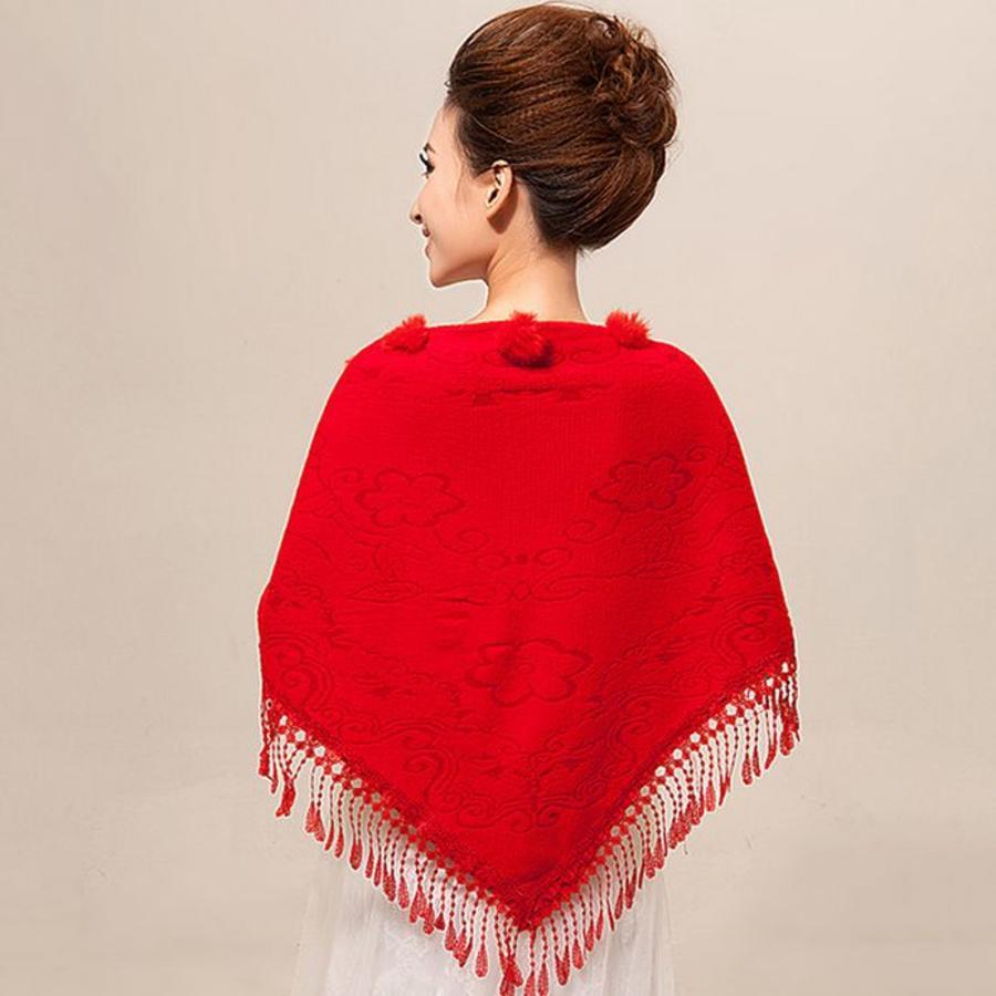 Prachtige Rode Sjaal-2